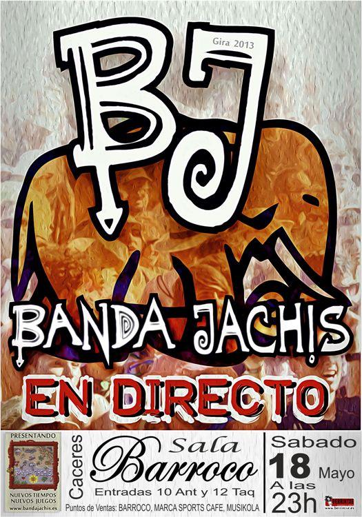 BANDA JACHIS Barroco Peque
